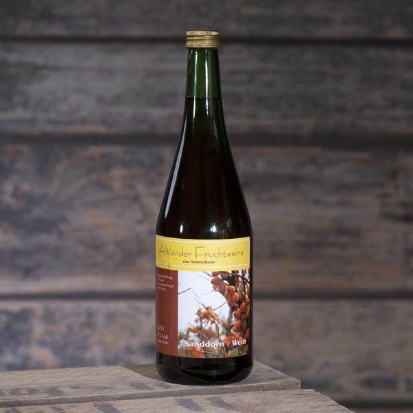 Sanddornfruchtwein