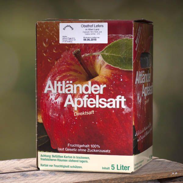 Bio-Apfelsaft Cuvée 5l - auch als 4er Vorteilspack