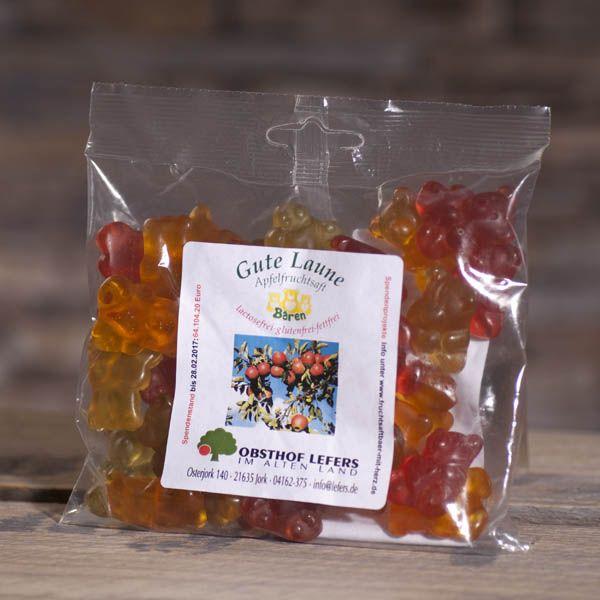 Fruchtgummibären Apfelfruchtsaft