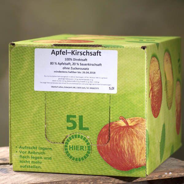 Apfel-Kirsch Saft 5l