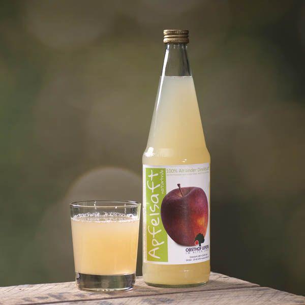Apfelsaft naturtrüb 0,7l