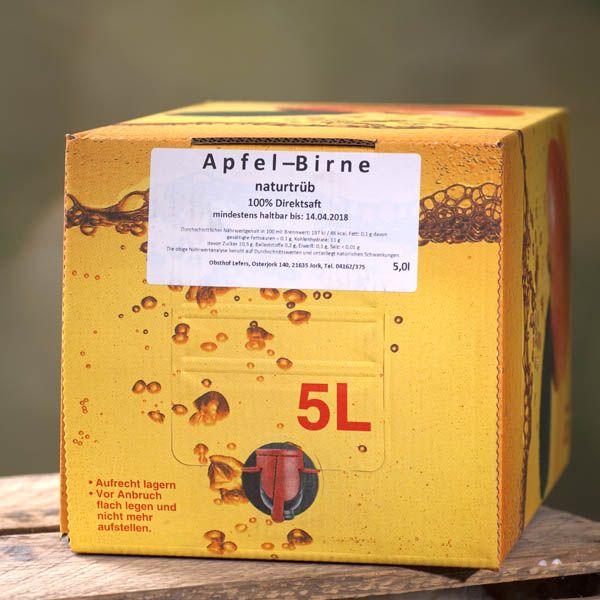 Apfel-Birne Saft 5l - auch als 4er Vorteilspack